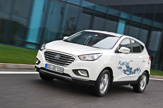 Hyundai ix35 FuelCell Wasserstoff