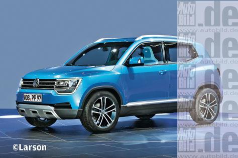 VW Taigun (2016): Vorschau