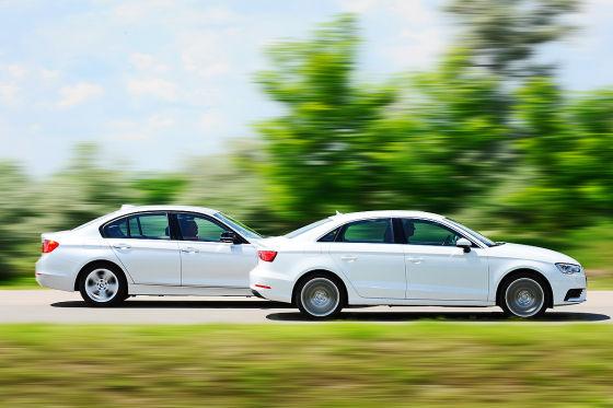 Audi A3 BMW 3er