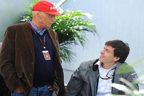 Niki Lauda wollte das FIA-Tribunal abwenden, Toto Wolff war dagegen