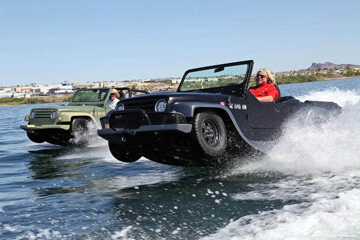 Panther WaterCar: Das schnellste Amphibienfahrzeug der Welt
