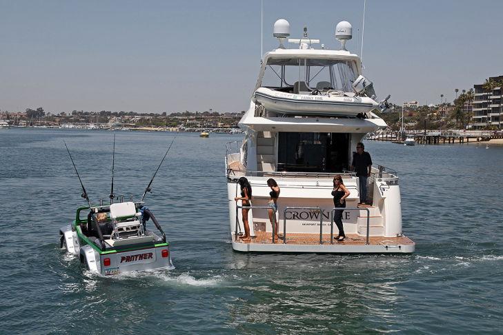 Panther WaterCar Yacht Amphibienfahrzeug
