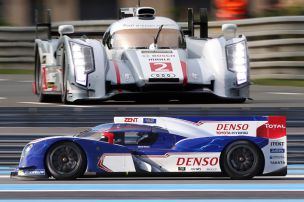 Le Mans: Audi gegen Toyota