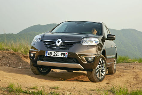 renault koleos facelift 2013 neuer look f rs suv. Black Bedroom Furniture Sets. Home Design Ideas