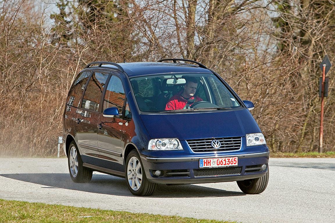 VW Sharan Frontansicht (Typ 7M)