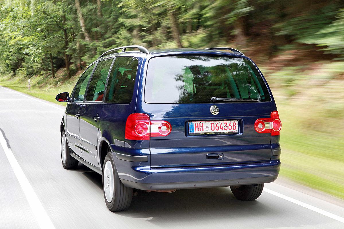 VW Sharan Heckansicht (Typ 7M)