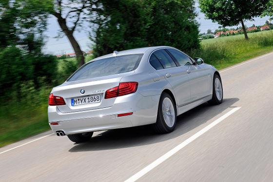 BMW 530d Heck