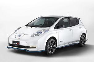 Nissan pimpt den Leaf