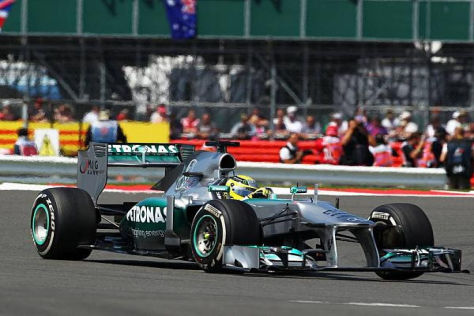 Nico Rosberg feierte in Silverstone seinen zweiten Sieg im Jahr 2013