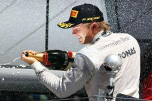 Verwarnung für Silverstone-Sieger Rosberg