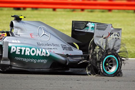Lewis Hamilton beim Großen Preis von Großbritannien in Silverstone