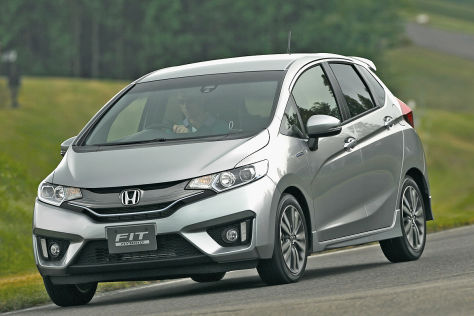 honda jazz mit neuem hybridantrieb in japan. Black Bedroom Furniture Sets. Home Design Ideas