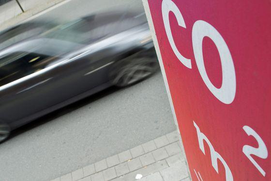 CO2 Kohlendioxid-Ausstoß