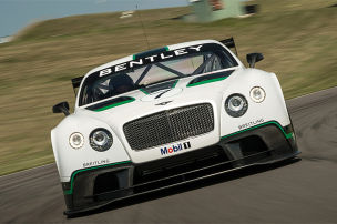 Renn-Bentley mit 608 PS