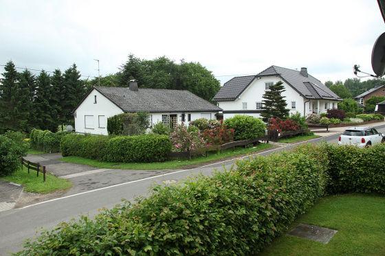 Frohnrath, Nordeifel: Im Haus links lebte Michael K.