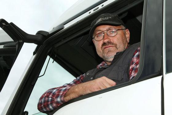 Helmut Ziemons, Lkw-Fahrer