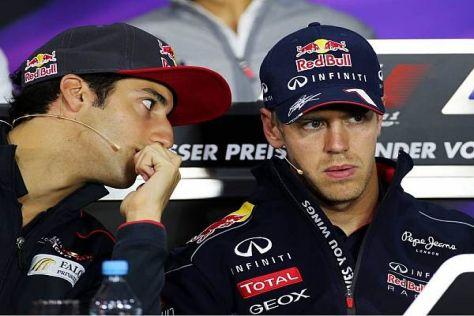 Daniel Ricciardo schielt auf den Platz des Vettel-Teamkollegen 2014