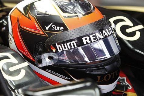 Kimi Räikkönen hat vor dem Rennen in der Eifel keine Reifen-Sorgen