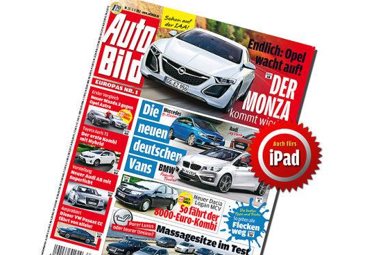Opel bringt den Monza zurück