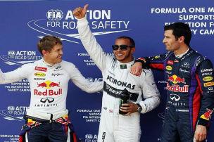 Nürburgring: Hamilton vor Vettel auf Pole