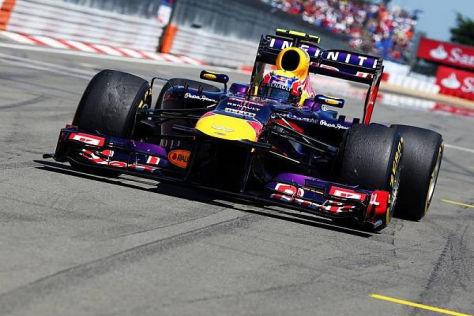 Mark Webber kam in der neuten Runde zum Boxenstopp