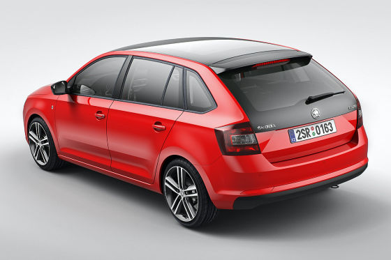 Skoda Rapid Spaceback: IAA 2013