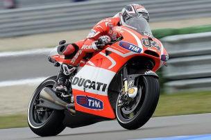 Dovizioso setzt am Sachsenring auf die neue GP13
