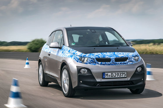 BMW i3 Front fahrend