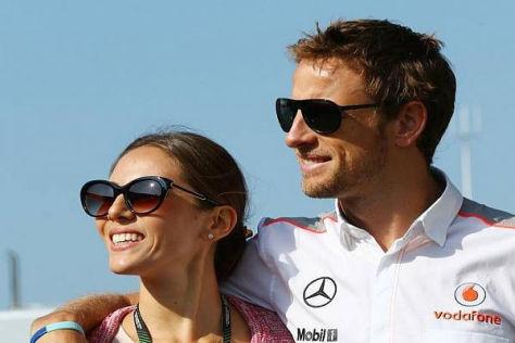 Jenson Button mit Freundin Jessica Michibata: Depressionen Fehlanzeige