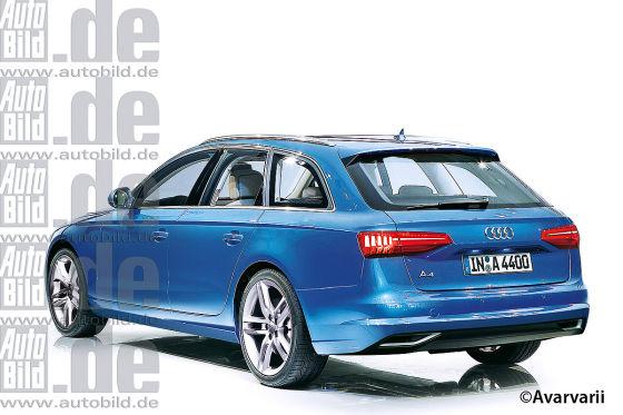Audi A4 Avant Illustration