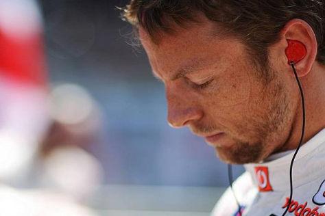 Jenson Button kommt trotz der McLaren-Krise nicht ins Grübeln