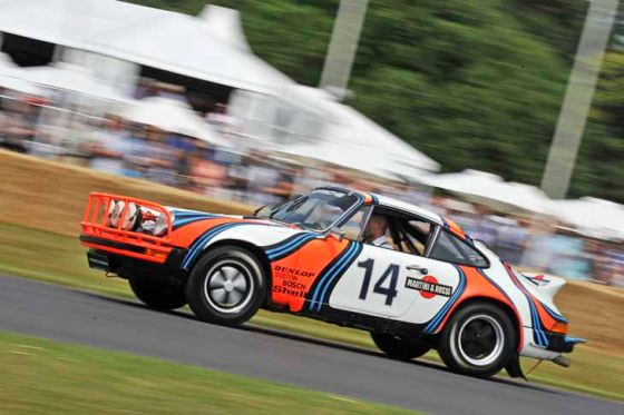 Goodwood Festival of Speed 2013: Erster Tag