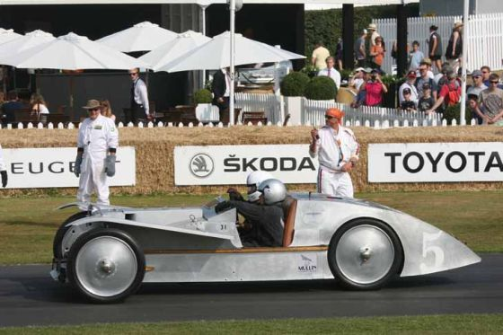 Goodwood Festival of Speed 2013: Zweiter Tag