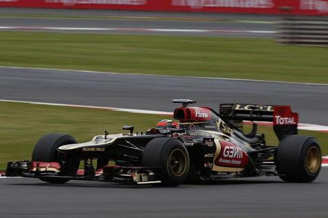 Kimi Räikkönen darf die neuen Pirelli-Reifen bereits vorab testen
