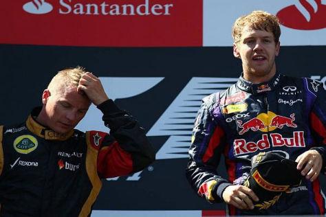 Die Reifen am Ende: Kimi Räikkönens Chancen sanken, je länger das Rennen lief