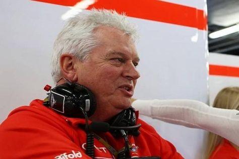 Pat Symonds glaubt, dass Fernando Alonso Marussia weiter nach vorn bringen würde