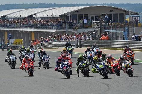 Der Sachsenring ist nicht bei allen MotoGP-Piloten beliebt