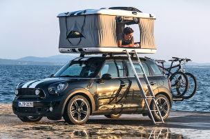 Mini macht Camping