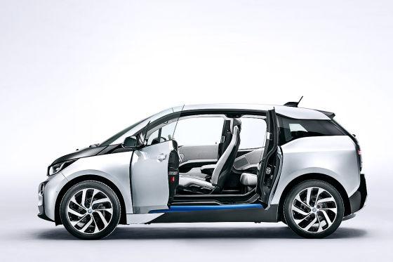 BMW i3 Seitenansicht ohne B-Säule