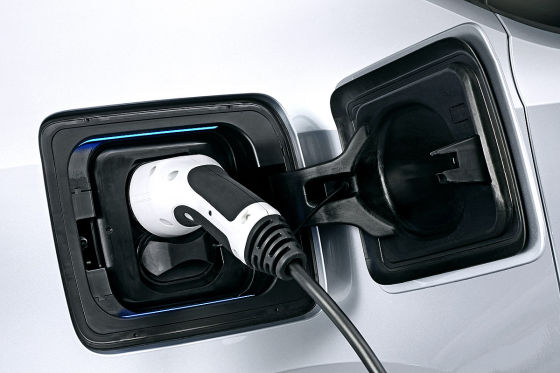 BMW i3 Strom tanken Stecker