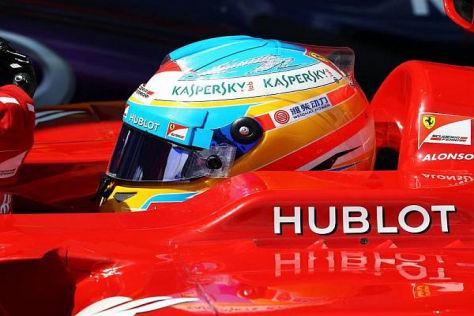 Fernando Alonso wird das rote Cockpit wohl nicht so schnell räumen