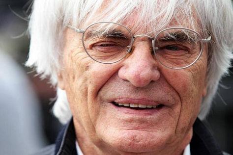 Formel-1-Boss Bernie Ecclestone bringt die Formel 1 wieder nach Österreich