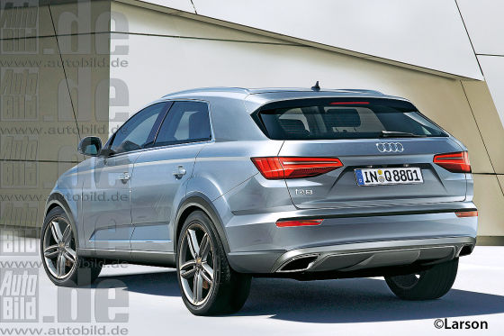 Audi Q8 Illustration
