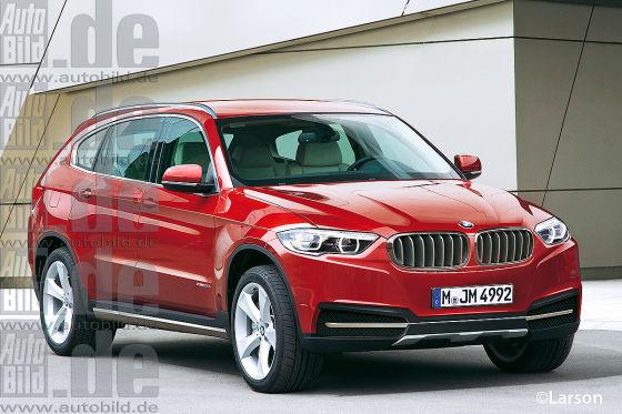 BMW X7 Illustration