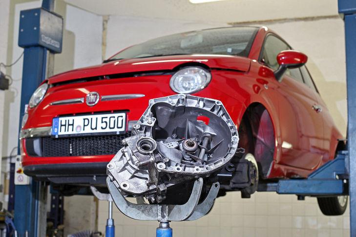 Fiat 500, AUTO BILD-Dauertest, Getriebeschaden