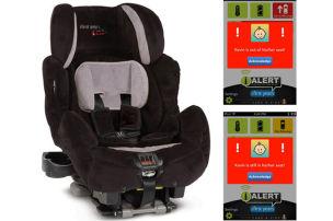 Kindersitz mit Alarmfunktion