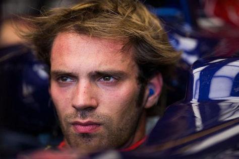 Schaut auch im nächsten Jahr aus dem Toro-Rosso-Cockpit: Jean-Eric Vergne