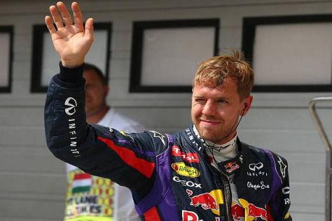 Sebastian Vettel zeigt sich nach Startplatz zwei in Ungarn optimistisch
