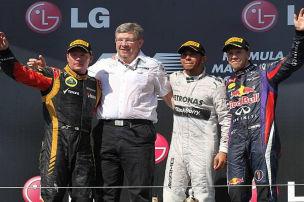 Silberner Sonntag: Hamilton gewinnt in Ungarn