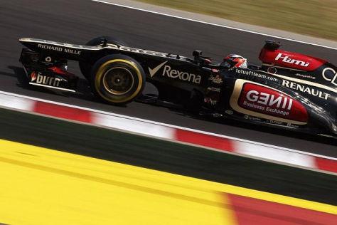 Kimi Räikkönen fuhr ökonomisch und schlich sich so auf das Podest